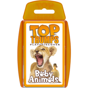 Classic Top Trumps - Baby Animals