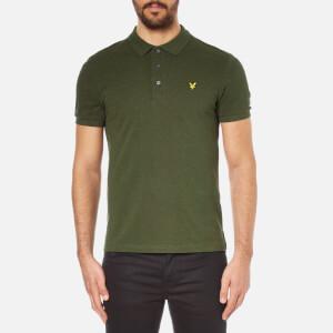 Lyle & Scott Men's Short Sleeve Polo Shirt - Dark Sage Marl
