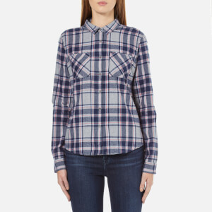 Superdry Women's New Lumberjack Twill Shirt - Stockholm Grey Check
