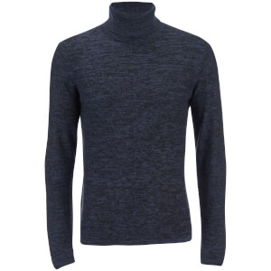 Produkt Men's Roll Neck Jumper - Dress Blue