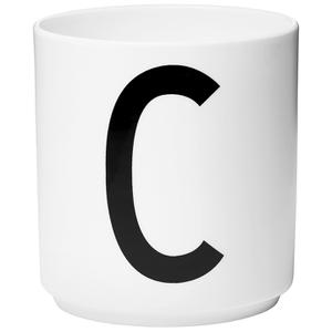 Design Letters Porcelain Cup - C