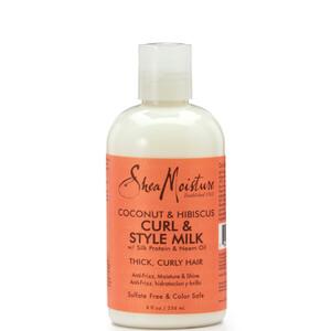Shea Moisture Coconut & Hibiscus Curl & Style Milk 254ml