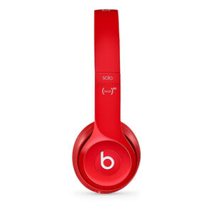 Beats by Dr. Dre: Solo2 On-Ear Headphones - Red (Manufacturer Refurbished)