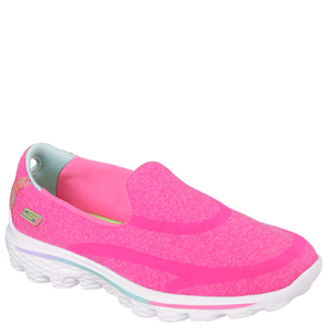 Skechers Kids' Go Walk 2 Shoes - Hot Pink