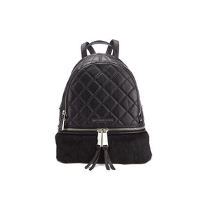 MICHAEL MICHAEL KORS Women's Small Fur Backpack - Black