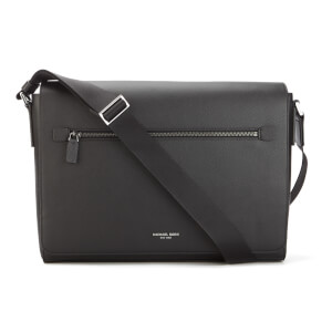 MICHAEL MICHAEL KORS Men's Harrison Large Messenger Bag - Black