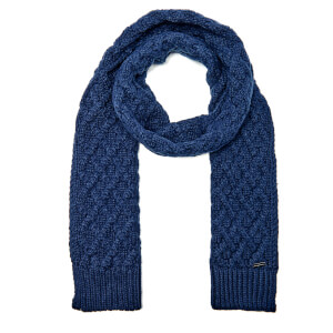 Michael Kors Men's Cable Knit Scarf - Midnight