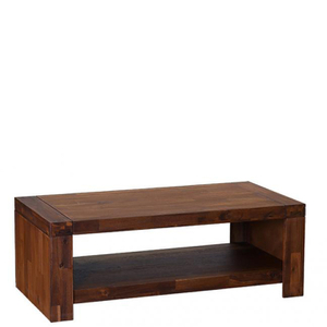 Premium Dark Coffee Table and Side Table Set