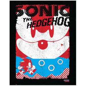 Sonic the Hedgehog Art Print - 14 x 11