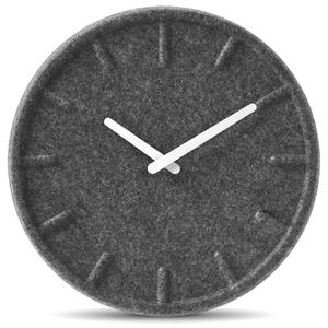 LEFF Amsterdam Felt Clock - White (35cm)