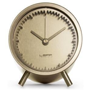LEFF Amsterdam Piet Hein Eek Tube Clock - Brass