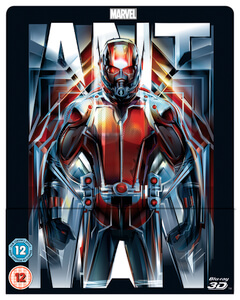 Ant-Man 3D (Inklusive 2D Version) -Zavvi Exklusive Lentikular Steelbook UK Edition