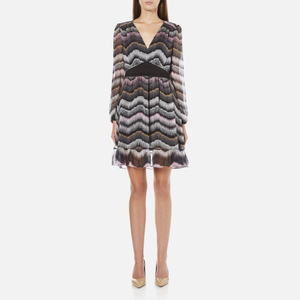 Diane von Furstenberg Women's Lizbeth Dress - Encore Wildrose/ Black