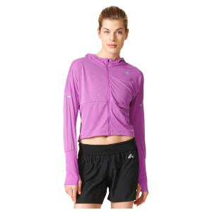adidas Women's Pure X Running Jacket - Purple