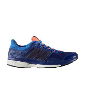 adidas Men's Supernova Glide 7 Running Shoes - Blue
