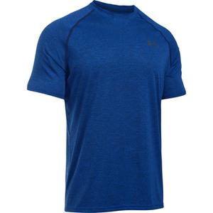 Under Armour Men's Tech Short Sleeve T-Shirt - Royal/Black
