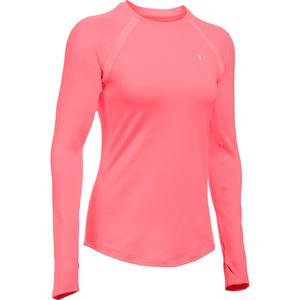 Under Armour Women's ColdGear Armour Crew Long Sleeve Shirt - Brilliance Pink