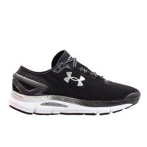 Under Armour Men's SpeedForm Gemini 2.1 Running Shoes - Black/White/Silver