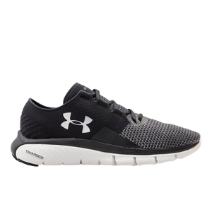 Under Armour Men's SpeedForm Fortis 2 Running Shoes - Black/Glacier Grey