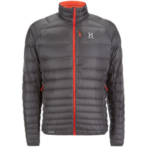 Haglofs Men's Essens III Down Jacket - Magnetite/Dynamite
