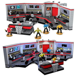 Mega Bloks Star Trek: The Original Series U.S.S. Enterprise Bridge Playset
