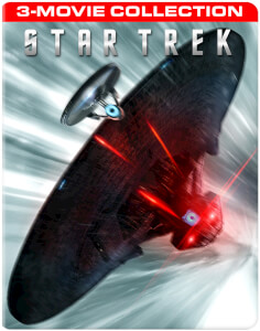 Star Trek (2D)/Star Trek Darkness (2D & 3D)/Star Trek Beyond (2D & 3D) - Zavvi Worldwide Exclusive Steelbook