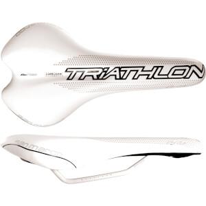 Selle San Marco Era Dynamic Triathlon Mag Rail Saddle - White