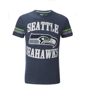 NFL Men's Seattle Seahawks Logo Slim Fit T-Shirt - Navy
