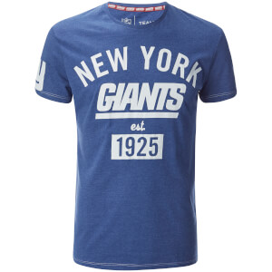 NFL Men's New York Giants Logo Slim Fit T-Shirt - Blue