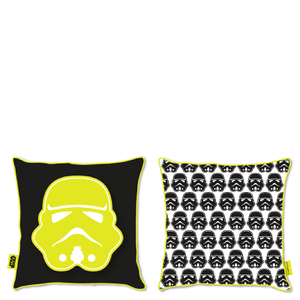 Star Wars Classic Stormtrooper Canvas Square Cushion - 40 x 40cm