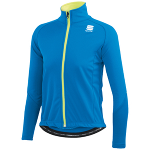 Sportful Kids' Softshell Jacket - Blue/Yellow