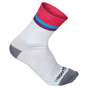Sportful Women's Wool 14 Socks - White/Cherry
