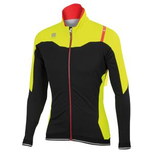 Sportful Fiandre NoRain Jacket - Black/Yellow