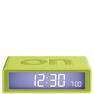 Lexon Flip Clock - Lime