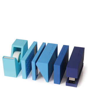 Lexon 5 Piece Buro Set - Blue