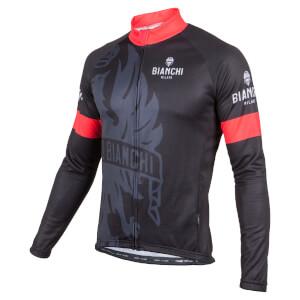 Bianchi Sorisole Long Sleeve Jersey - Black/Red