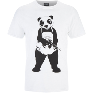 DC Comics Suicide Squad Men's Panda T-Shirt - Black