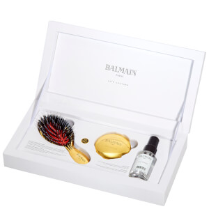 BALMAIN HAIR MINI GOLDEN BRUSH SET