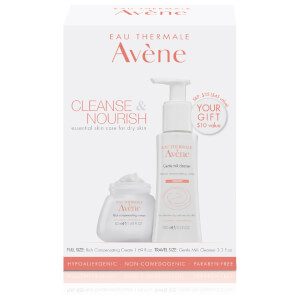 Avène Cleanse & Nourish – Essential Skin Care Regimen for Dry Skin