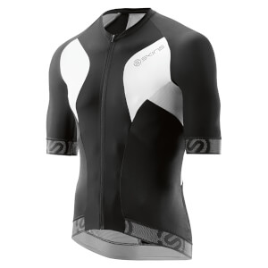 Skins Cycle Men's Tremola Due Short Sleeve Jersey - Black/White