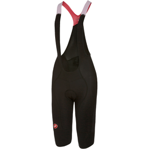 Castelli Women's Omloop Thermal Bib Shorts - Black