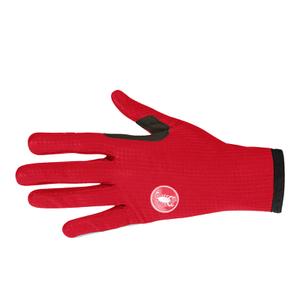Castelli Women's Scudo Gloves - Red/Black