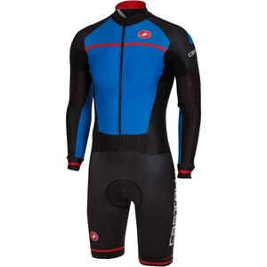 Castelli CX 2.0 Speedsuit - Blue/Black/Red