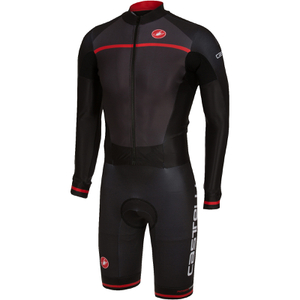 Castelli CX 2.0 Speedsuit - Grey/Black
