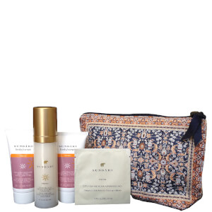 Sundari Beauty Bag with Anti-Aging Firming Skincare
