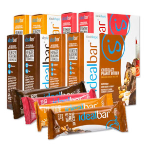 IdealBar Snack Bars - 8 Boxes
