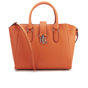 Lauren Ralph Lauren Women's Bethany Shopper Bag - Monarch Orange