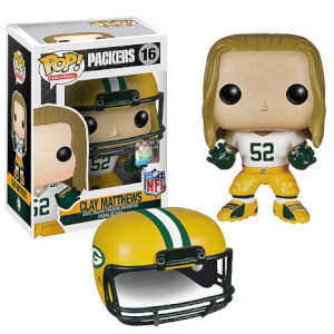 NFL Clay Matthews Wave 1 Funko Pop! Figuur