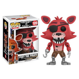 Five Nights at Freddys Foxy The Pirate Pop! Vinyl Figure