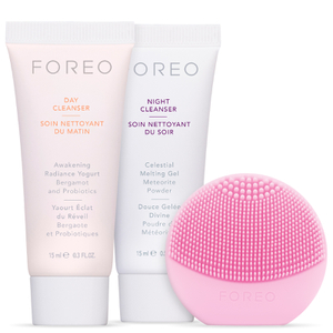 FOREO Holiday Cleansing Must-Haves - (LUNA play) Pearl Pink (Worth $60)